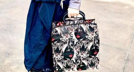 TPU woman's bag